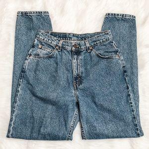 Levi 912 High Waisted Mom Jeans Vintage Orange Tag